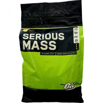 OPTIMUM NUTRITION Serious Mass 5500g