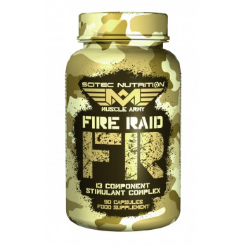 SCITEC Muscle Army Fire Raid 90caps