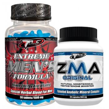 TREC Extreme Men's Formula 30tabs + ZMA Orginal 30caps