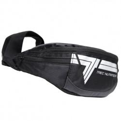 TREC Waist Bag Black-Silver Nerka Na Biodro