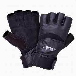 TREC Rękawice Treningowe Strong Gloves Black