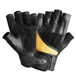 TREC Rękawice Treningowe Super Strong Gloves Black Brown