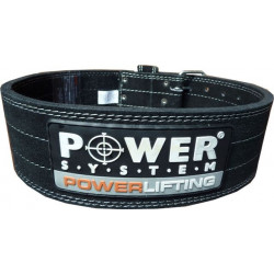 POWER SYSTEM 3800 Powerlifting Belt PAS SKÓRZANY