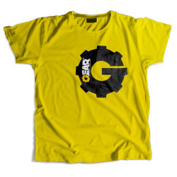 Gear T-Shirt Yellow Koszulka