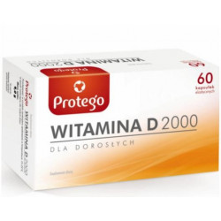 Protego Witamina D 2000 60caps