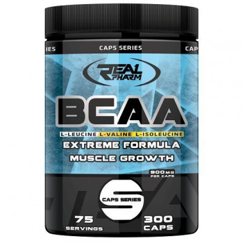 Real Pharm BCAA 300caps