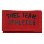 TREC Team Athletes Wallet 03 Red Portfel