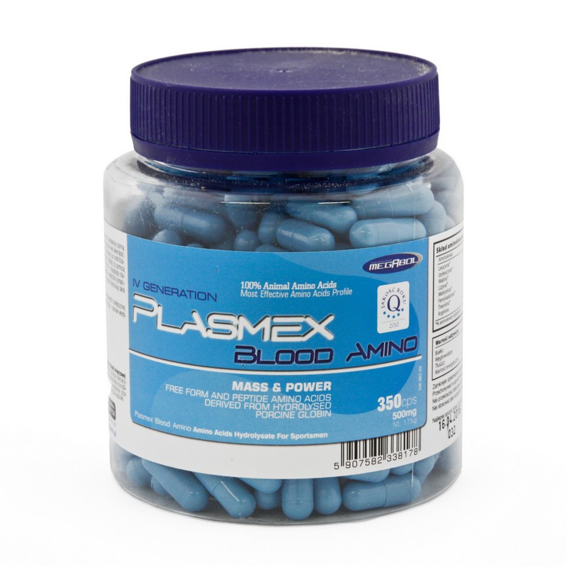 Megabol Plasmex Blood Amino 350 caps
