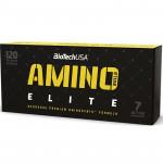 Biotech USA Amino Build Elite 120caps + T-shirt