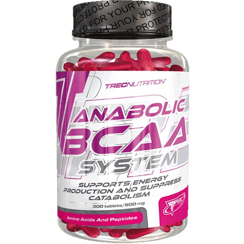 TREC Anabolic BCAA System 300tabs