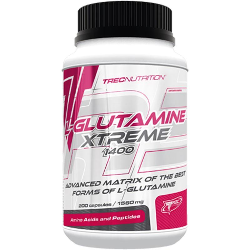 TREC L-Glutamine Extreme 1400 200caps