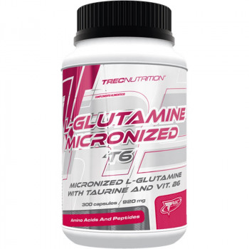 TREC L-Glutamine Micronized T6 300caps