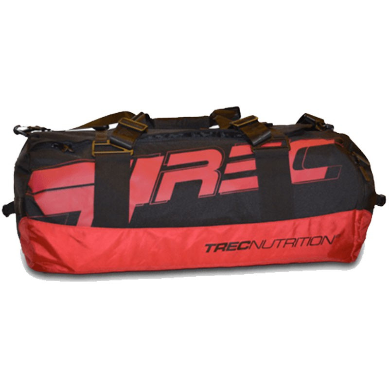 TREC Team Training Bag 004-92L Black-Red Torba