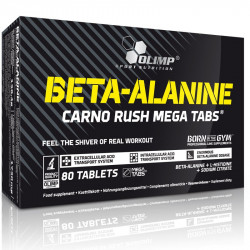 OLIMP Beta-Alanine Carno Rush 80caps