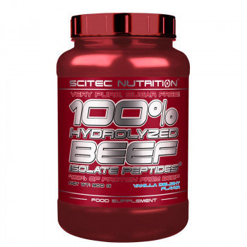 SCITEC 100% Hydrolysed Beef Isolate Peptides 900g