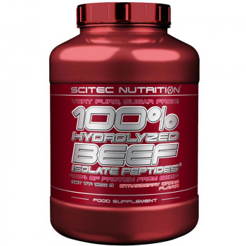 SCITEC 100% Hydrolysed Beef Isolate Peptides 1800g