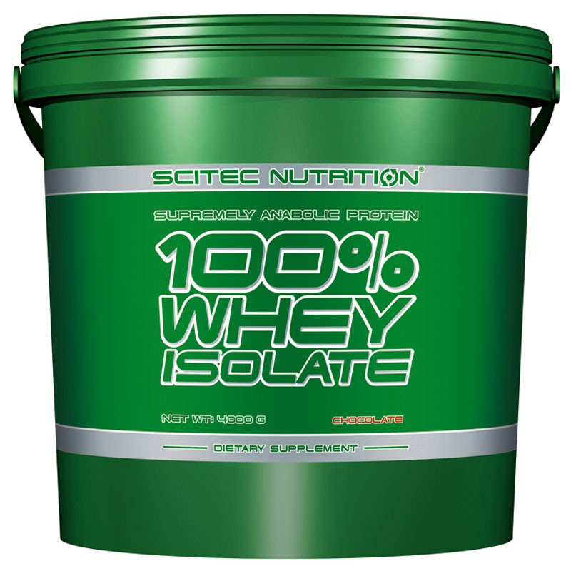 SCITEC 100% Whey Protein Isolate 4000g