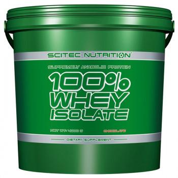 SCITEC 100% Whey Protein Isolate 4000g