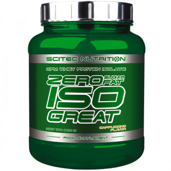 SCITEC Zero Sugar Fat ISO GREAT 900g