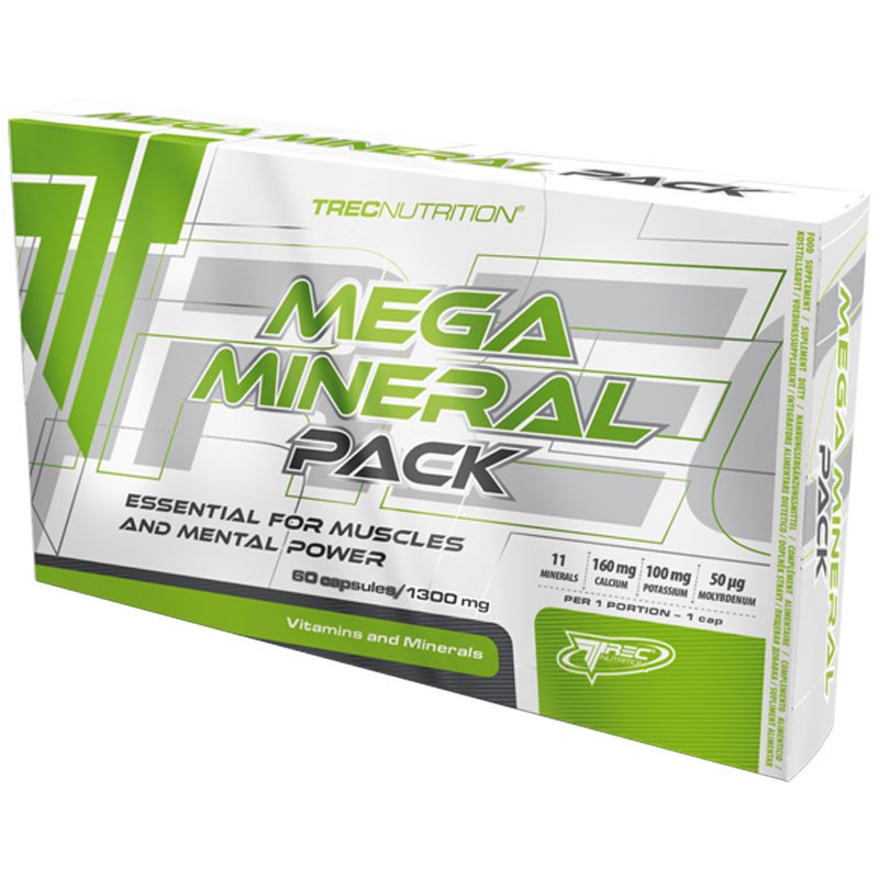 TREC Mega Mineral Pack 60tabs