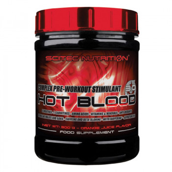 SCITEC Hot Blood 2.0 300g