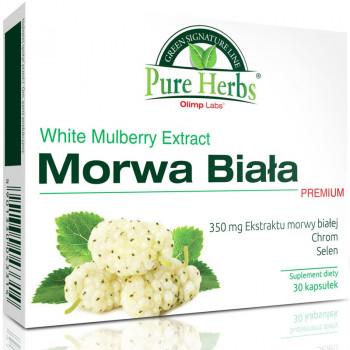 OLIMP Morwa Biała Premium 30caps
