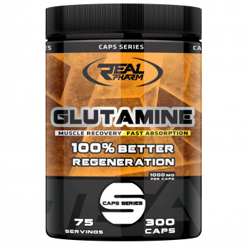 Real Pharm Glutamine 300caps