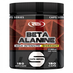 Real Parm Beta Alanine 150caps