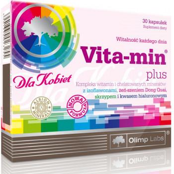 OLIMP Vita-Min Plus Dla Kobiet 30caps