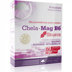 OLIMP Chela-Mag B6 Skurcz 60caps
