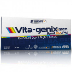 Biogenix Vita-genix am/pm 60caps