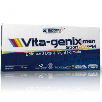 BIOGENIX Vita-genix Men Am/Pm 60caps
