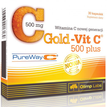 OLIMP Gold-Vit C 500 Plus 30caps