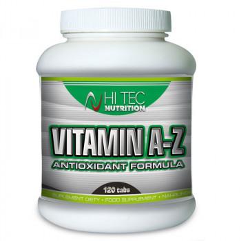 HI TEC Vitamin A-Z Antioxidant 120tabs