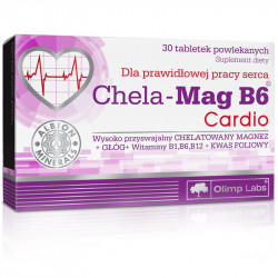 OLIMP Chela-Mag B6 Cardio 30tabs