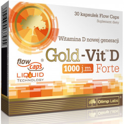 OLIMP Gold-Vit D Forte 1000 30caps