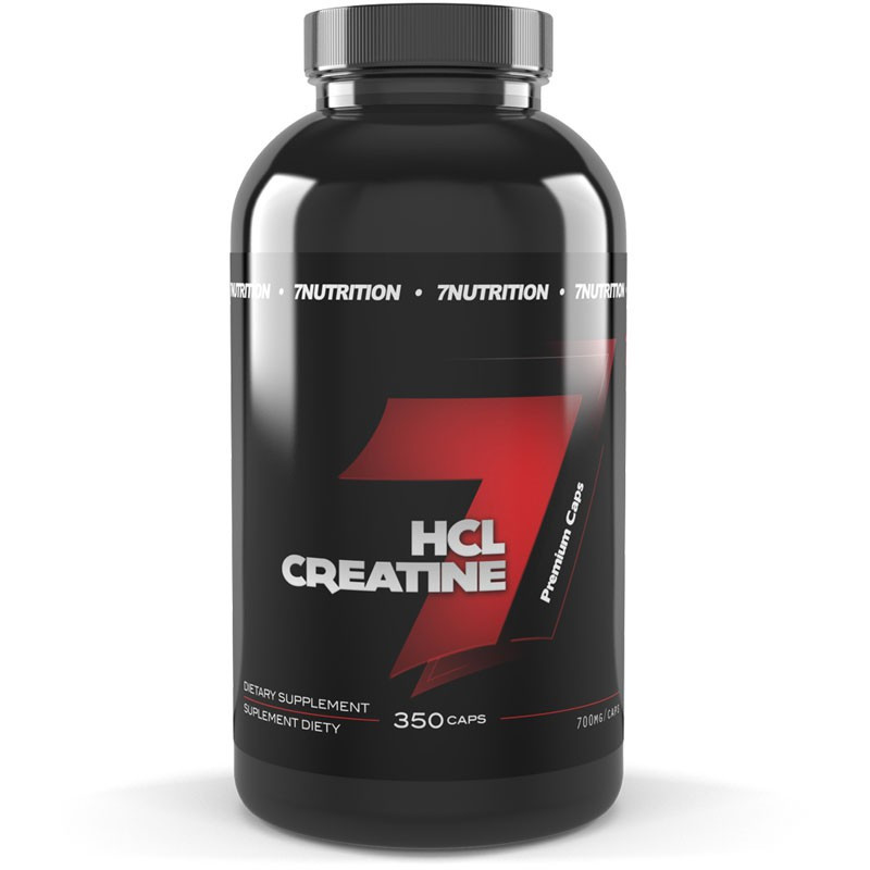 7NUTRITION HCL Creatine 350caps