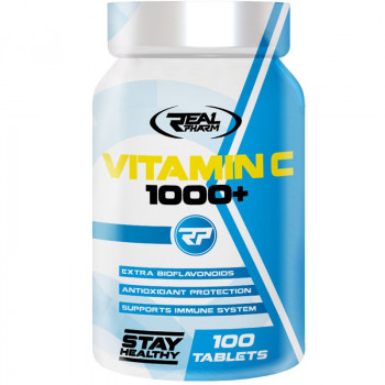 Real Pharm Vitamin C 1000+ 100tabs