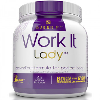 OLIMP Work It Lady Queen Fit 337,5g