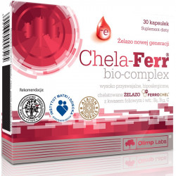 OLIMP Chela-Ferr bio-complex 30caps ŻELAZO