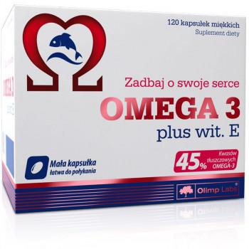 OLIMP Omega 3 Plus Vit E 120caps