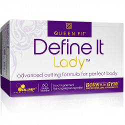 OLIMP Define It Lady Queen Fit 60tabs