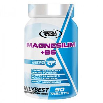 Real Pharm Magnesium + B6 90tabs