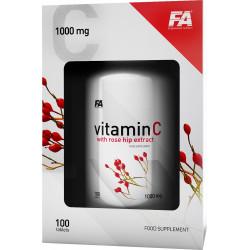 FA Vitamin C With Rose Hip Extract 100tabs Witamina C Z Ekstraktem Z Dzikiej Róży