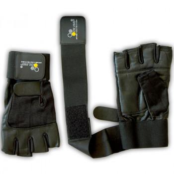 OLIMP Rękawice Treningowe Hardcore Competition Wrist Wrap Z Usztywnieniem Nadgarstka
