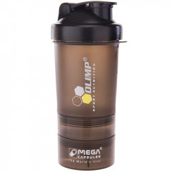 OLIMP Smart Shake Black Label 600ml Shaker