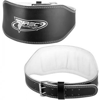 TREC Leather Wide Belt Pas Kulturystyczny Skórzany Szeroki