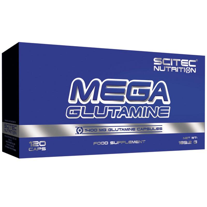 SCITEC Mega Glutamine 120caps