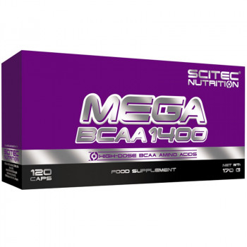 SCITEC Mega Bcaa 1400 120caps