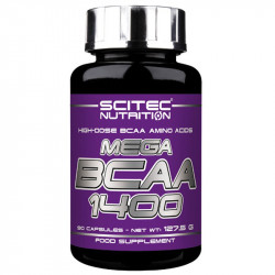 SCITEC Mega Bcaa 1400 90caps